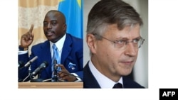 Perezida wa Repubulika iharanira demokarasi ya Kongo Joseph Kabila n'uwungirije umunyamabanga mukuru wa ONU Jean-Pierre Lacroix.