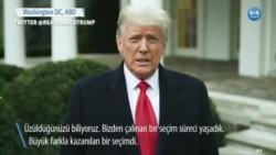 """Trump'tan Destekçilerine """"Eve Dönün"""" Çağrısı"""
