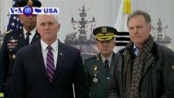 VOA60 America - U.S. President Donald Trump signs a six-week government spending bill