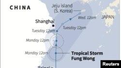 Badai Tropis Fung Wong