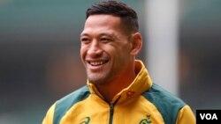 Bintang Rugby Australia, Israel Folau