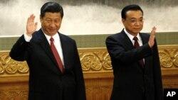 中國新一代領導人習近平和李克強