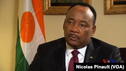 Mahamadou Issoufou, president du Niger
