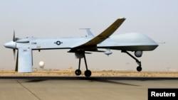 Un prominente líder talibán y su número dos, han sido las víctimas más recientes de los ataques de drones como éste, un MQ-1B Predator.