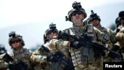 Военнослужащие армии Грузии (архивное фото)