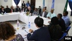 Ujumbe wa Baraza la Usalama la Umoja wa Mataifa wakutana na viongozi wa Somalia mjini Mogadishu