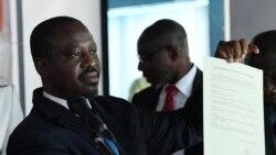 Le procureur de la république Richard Adou présente les preuves contre Soro