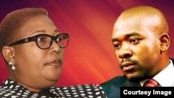 Thokozani Khupe and Nelson Chamisa.