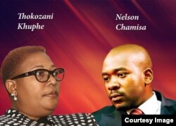UNkosazana Khupe loMnu. Nelson Chamisa