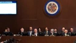 VOA: EE.UU. Pompeo Venezuela OEA