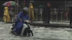 菲律賓大雨洪水令一切活動停頓