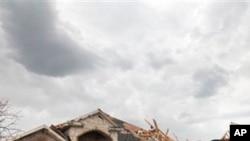德州達拉斯發生龍捲風後造成的破壞