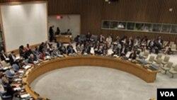 Sidang Dewan Keamanan, Kamis di New York, yang berakhir dengan keputusan bulat untuk menyudahi misi NATO di Libya.