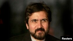 FILE - Iran's Foreign Ministry spokesman, Bahram Ghasemi.