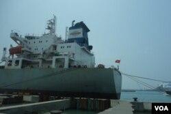台北港 2 (美国之音张佩芝 拍摄)