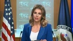 """美國務院:中國曝光美外交官信息是""""流氓政權""""所為"""