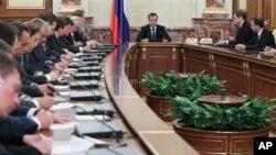Заседание нового кабинета министров