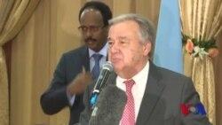 Guterres oo booqday Somalia