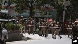 Tấn công tự sát đại sứ quán Iraq ở thủ đô Kabul, Afghanistan, ngày 31/7/2017.