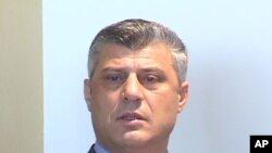 Kosovo PM Hasim Thaci (file photo)