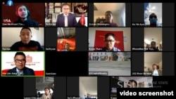 ဦးထင်လင်းအောင်နှင့် မြန်မာ့ဒီမိုကရေစီအင်အားစုများ (USA) တွေ့ဆုံပွဲ
