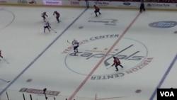 Garee Qillee(Hockey) DC,Washington Caps., fi Ta Florida,Panthersitti Istaadiyoomii Verzioniitti Taphatee, Caps 3-2 Panthers Moote