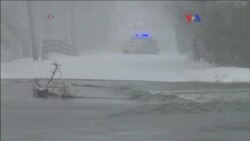 Tormenta invernal causa estragos en NY
