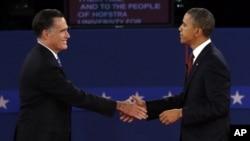 Митт Ромни и Барак Обама