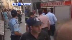 VOA60 DUNIYA: TURKEY Mutane 7 Ne Suka Ji Rauni A Garin Kilis Da KE Kan Iyaka Da Syria