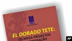 """""""El Dorado Tete: Os Mega Projectos de Mineração"""", de João Mosca e Tomás Selemane"""