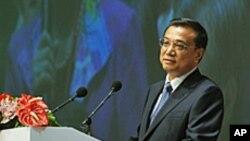 中国国务院副总理李克强在香港出席「十二五」规划论坛
