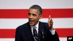 奥巴马总统11月25日在旧金山一个民主党募款会上