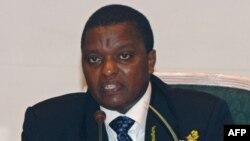 Azarias Ruberwa, vice-président ya kala ya RDC, na Kinshasa, 2006. (Photo ezaka date/AFP)