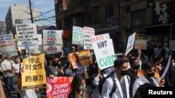 asians protests ny 3
