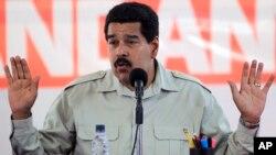 Presiden Venezuela, Nicolas Maduro menuduh mahkamah HAM OAS adalah alat kepentingan geopolitik AS (foto: dok).