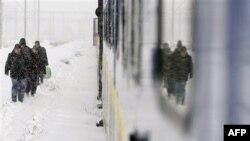 Romanya Kar Altından Çıkmaya Çalışıyor