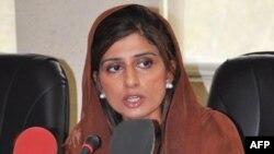Bà Hina Rabbani Khar tuyên thệ nhậm chức Bộ trưởng Ngoại giao Pakistan hôm 19/7/11