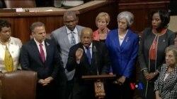 美國議員靜坐抗議結束鬥爭還要繼續