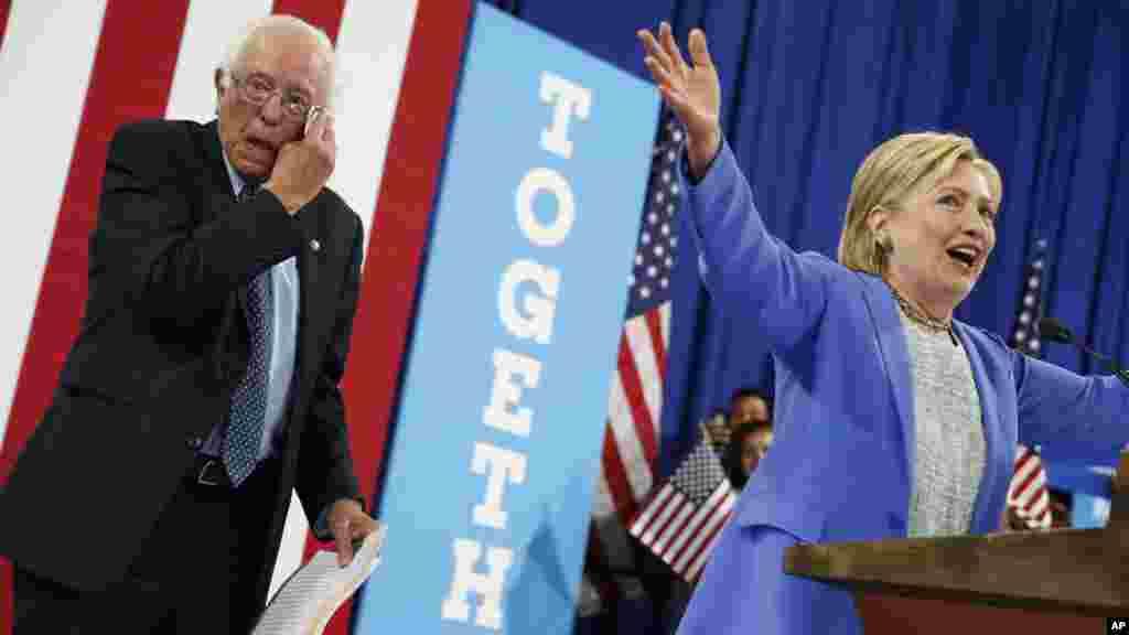 Sanders : La secrétaire Clinton a gagné les primaires démocrates!