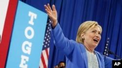 Hillary Clinton, la candidate démocrate, le 12 juillet 2016.