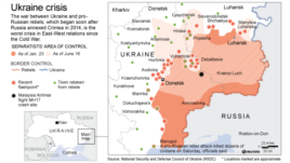 Separatists Area of Control in Ukraine