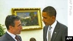 توافق پرزيدنت اوباما و دبيرکل ناتو در مورد استراتژی افغانستان