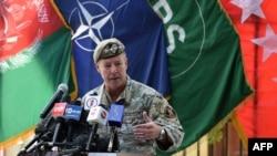 Генерал Скотт Міллі під час церемонії, Кабул, Афганістан, 12 липня