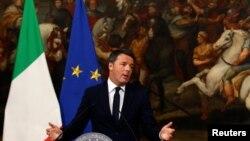 意大利總理倫齊在星期天的全國公投中,選民否決了由他提出的修憲方案。