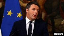 Firayim Ministan Italia Matteo Renzi