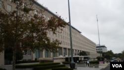 美国国务院主楼(资料图片)
