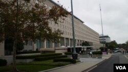 美国国务院主楼(资料照)