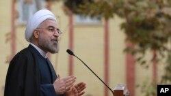 Madaxweynaha wadanka Iran Hassan Rouhani