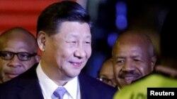 시진핑 주석이 25일 아시아태평양 경제협력체(APEC) 정상회의 참석하기 위해 파푸아 뉴기니에 도착했다. (자료사진)
