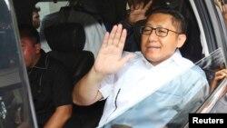 Anas Urbaningrum, mantan Ketua Umum Partai Demokrat resmi ditahan KPK dalam kasus korupsi Hambalang (foto: dok).